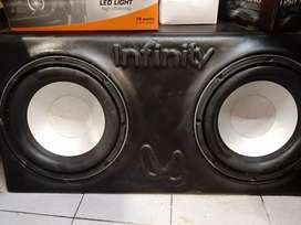 "Caja infinity sub 10"""