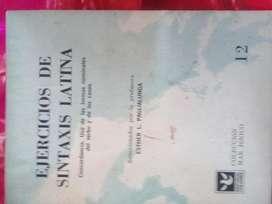 EJERCICIOS DE SINTAXIS LATINA ESTER PAGLIALUNGA