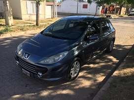 Peugeot 307 xs premium gnc 2009