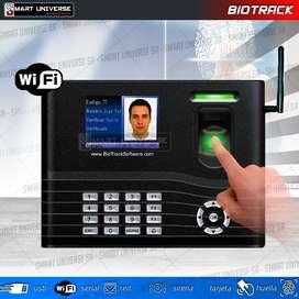 Lector de huella Biométrico Biotrack WIFI