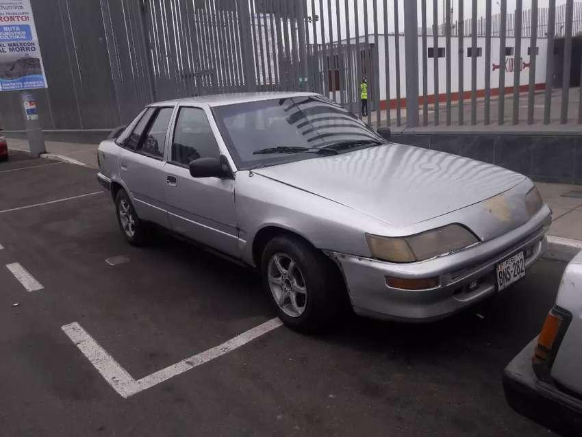 Vendo mi Daewoo espero motor recién reparado dual glp 5500 soles