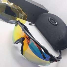 gafas de sol Oakley  deportivas lente intercambiable HOMBRE MUJER VARIOS COLORES