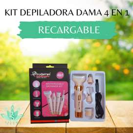 Kit Depiladora 4 en 1