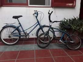 Vendo 2 bicicletas al precio de 1
