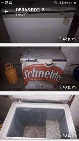 freezer pequeño