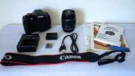 Cámara Canon REBEL T3 EOS 1100D