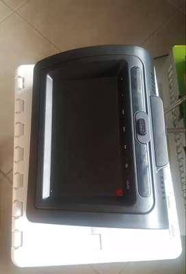 monitor de cabecera auto