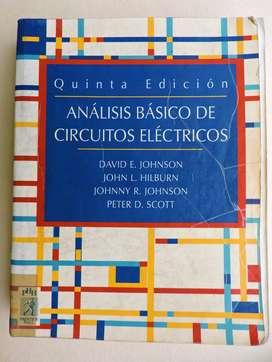 Análisis Básico De Circuitos Eléctricos 5 Ed. Buen Estado