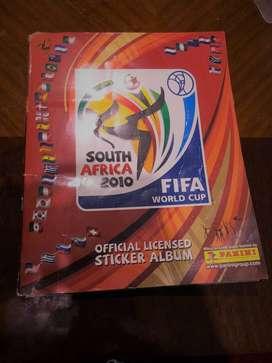Álbum mundial Sudáfrica 2010  lleno