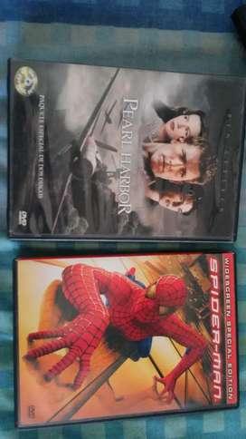 Peliculas en DVD originales.