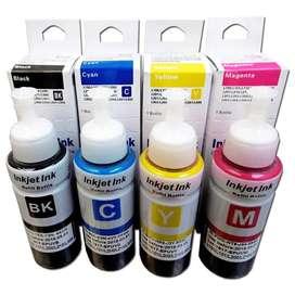 Tinta Epson genérica L200 cyan, Magenta, Yellow, Black 100 ml