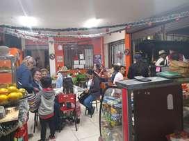 Ganga!!se vende negocio de comidas rápidas y cafetería. Acreditado,ubicado en el municipio de manta cundinamarca.
