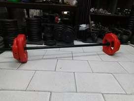 Kit funcional, body 15kg + barra reforzada