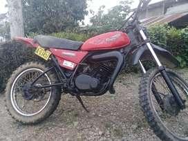 Moto Yamaha 2t