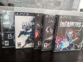 Juegos originales PS3 (precio por todos juntos)