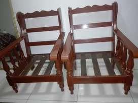 Juego de Muebles Caoba de 5 Cuerpos