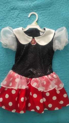 Disfraz Minnie usado