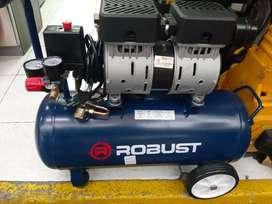 Compresor robust sin aceite
