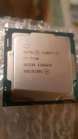 Procesador i7 7700