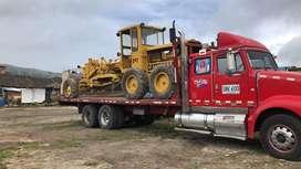 Transporte de maquinaria pesada y de materiales