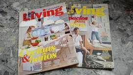 Revistas Coleccionables Living ideas Que Vienen X 2 unidades