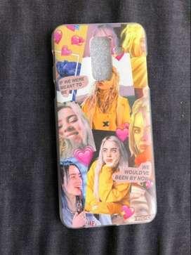 carcasa o funda protectora Billie Eilish Samsung Galaxy A6 Plus 2018