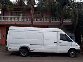 Mercedes benz sprinter furgon largo dual