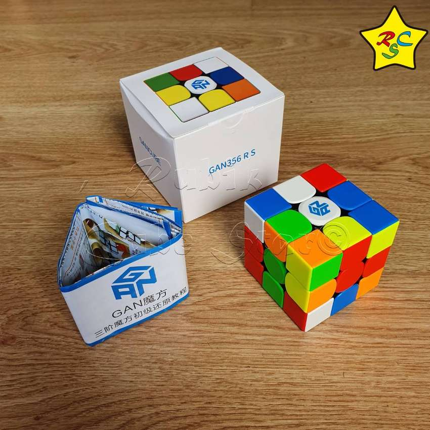 Gan 356 Rs Cubo Rubik 3x3 Gancube Original Stickerless 0