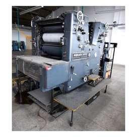 Impresora bicolor somz Heidelberg año 79 usada