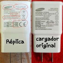 Cargadores Carga Rápida Samsung Original