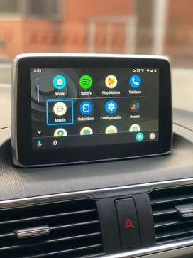 Android auto, videos en pantalla y aplicaciones en la pantalla de tu mazda