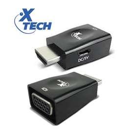 Adapatador HDMI a VGA xtech XTC 361 1080p