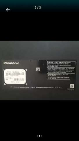 Se vende televisor Panasonic modelo 2018 para repuestos ya que la pantalla se encuentra partida.