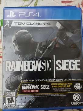 Videojuego PS4 Rainbow six