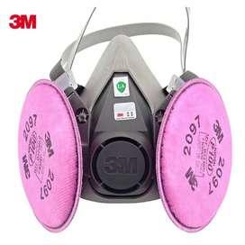 Respirador Doble Filtro3m,  Con Filtros P100 Ref. 2097