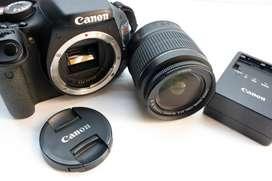CAMARA CANON T3I-COMO NUEVA-FOTOS REALES