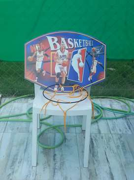 Aro de basquet sin uso
