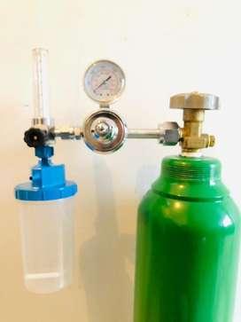 Kit portatil de oxigeno y regulador