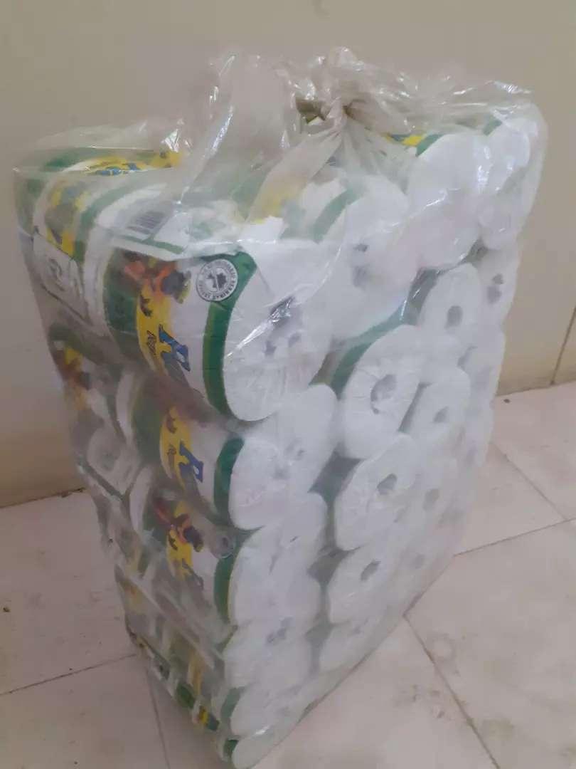 Vendo papel higuenico y rollo de servilletas x bulto 0