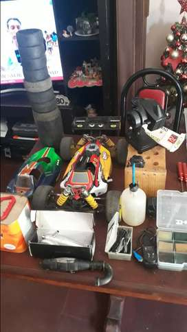Vendo RC nitro autos radio control