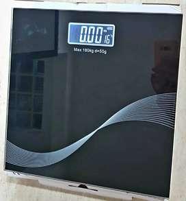 Basculas en vidrio con pantalla digital
