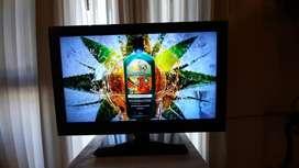 Monitor LG 19 Flatron  LCD  w1943se  Con cables de alimentación VGA y un adaptador VGA HDMI