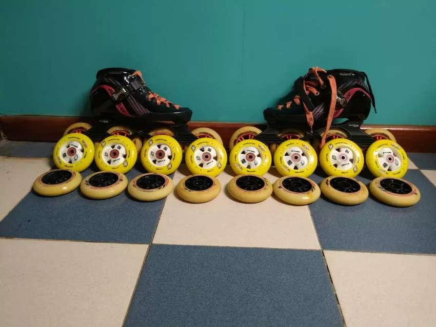 Vendo patines profesionales carrera 0