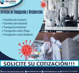 SERVICIO DE FUMIGACION Y DESINFECCION