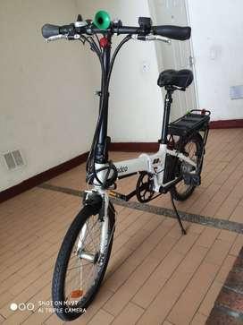 Bicicleta Eléctrica Plegable vendo o permuto por patineta electrica
