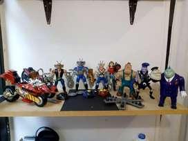 Colección figuras motorratones de 1993