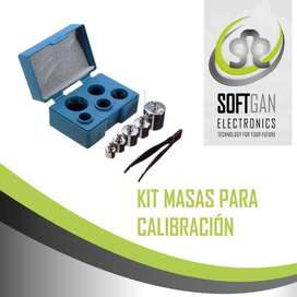 Kit de masas para calibración de 1kg a 1g