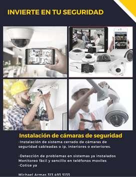 Instalación de sistemas de cámaras de seguridad