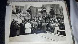 Foto de peron y evita 1950