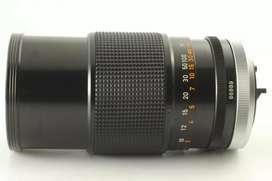 Lente canon FD 135 mm f2.5 SC